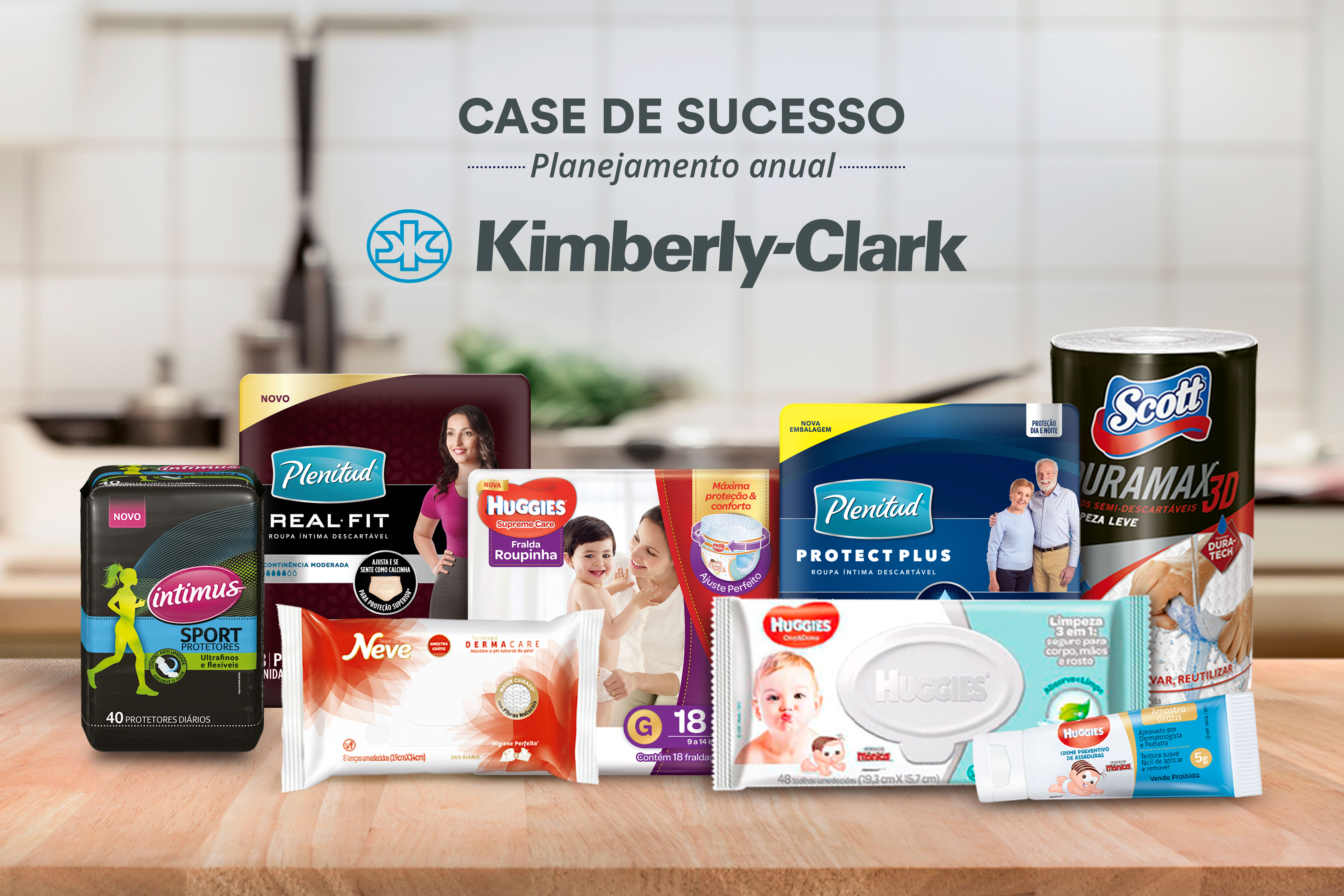 Case de Sucesso — Samplify e Kimberly-Clark